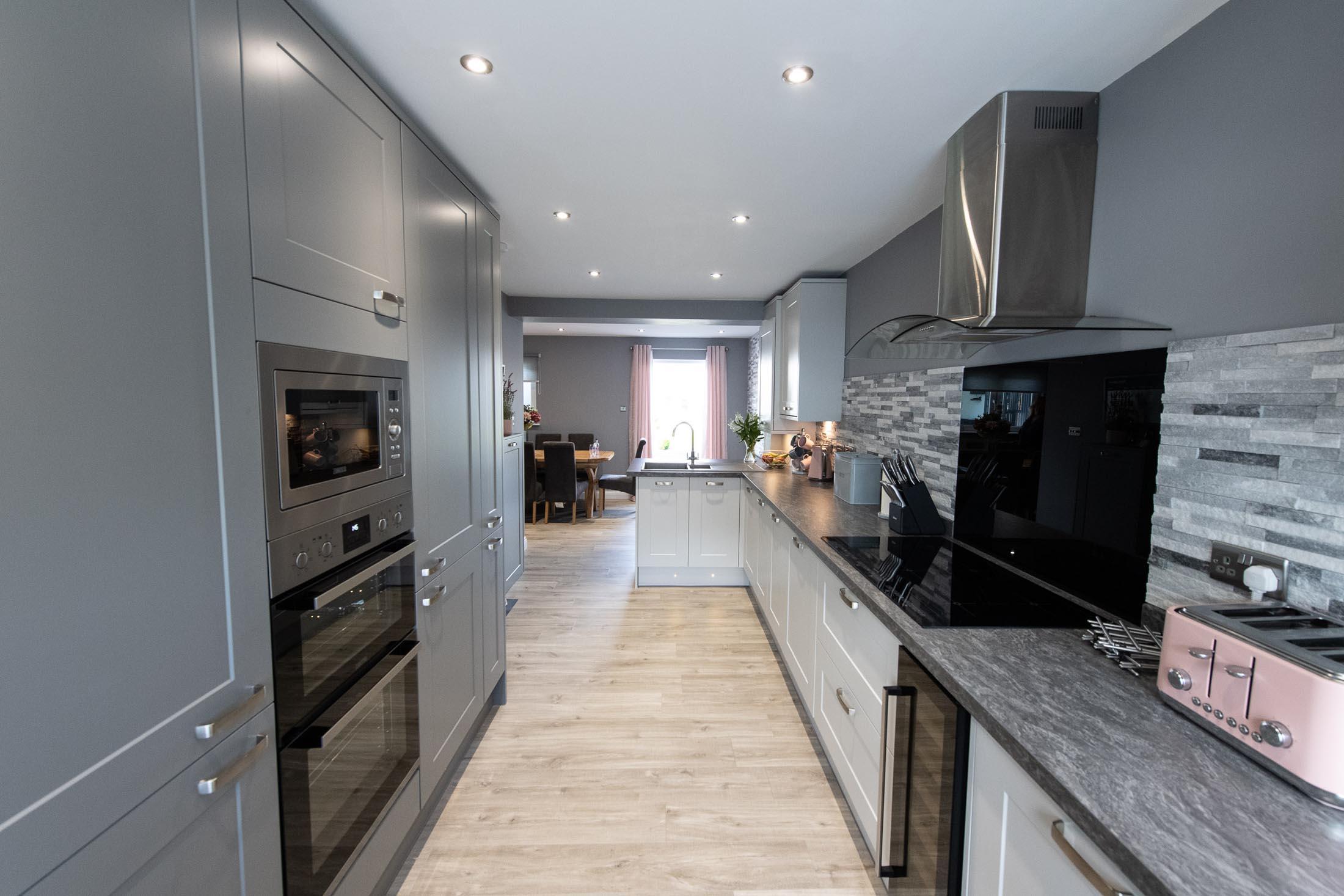 Ayrshire Garage Conversion to Kitchen